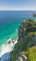 Cape Point is het meest zuidwestelijke punt van Afrika foto