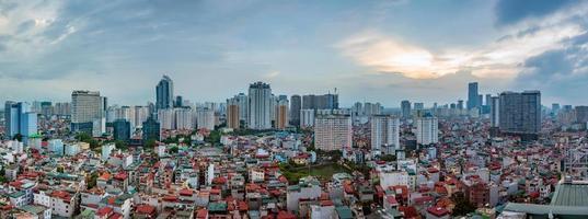 hanoi uitzicht vanuit de lucht foto