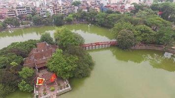 Hoan Kiem Lake Hanoi foto