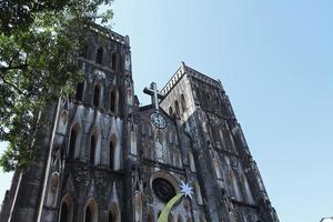 de grote kerk van Hanoi foto