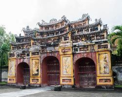 tint keizerlijke stad, een paarse verboden stad foto