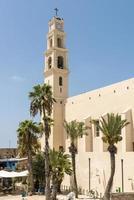 katholiek klooster in jaffa, israël foto