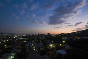 weergave van een wijk in el salvador foto
