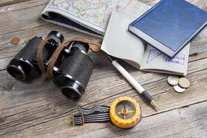 uitrusting voor reizigers foto