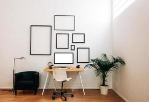 moderne creatieve werkruimte. foto