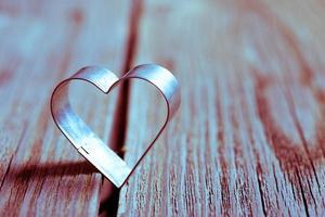 Valentijnsdag achtergrond met hart. foto