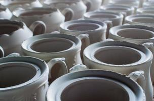 porseleinen fabrieksvaartuigen foto