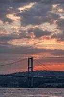 Bosporus-brug Istanbul foto