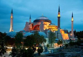 hagia sophia6 (istanbul, turkije) foto