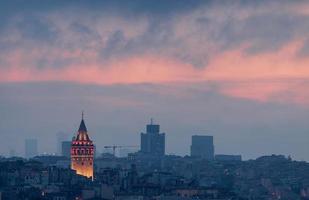 galata toren istanbul foto