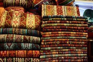 de grote bazaar in istanbul foto
