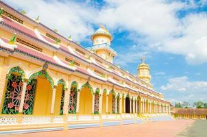 cao dai tempel in de provincie tay ninh