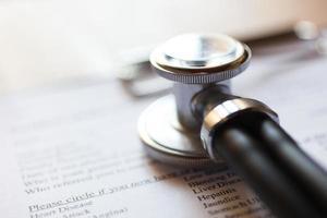 medische documenten foto
