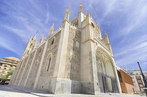 kerk van San Jeronimo, Madrid. beroemde bezienswaardigheid in spanje. foto