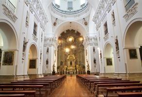 madrid - schip van de kerk san isidoro foto