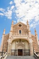 st. Jerome koninklijke kerk in Madrid foto