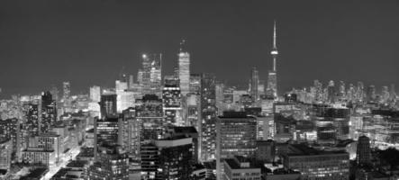 Toronto schemering foto
