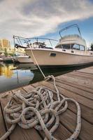 boot in de waterkant van Toronto