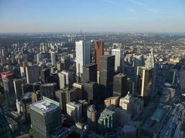 luchtfoto van toronto foto