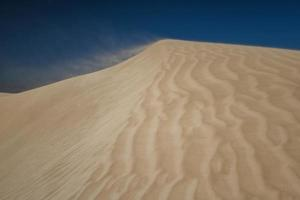 Australische witte woestijn foto