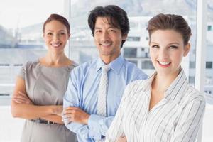 business team staan allemaal samen foto