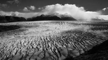 grote gletsjer in Patagonië foto