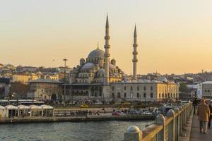 nieuwe moskee in Istanbul (Turkije) foto
