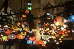 lampen van istanbul foto