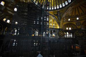 hagia sophia renovaties foto
