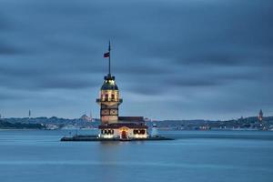 maiden's tower, istanbul, turkije foto