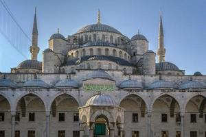 sultan ahmed moskee, istanbul foto