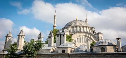 nuruosmaniye moskee in istanbul, turkije