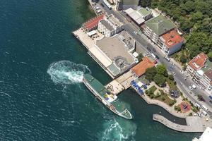 schip aanmeren pier