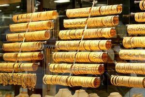 Turkse goudwinkel foto