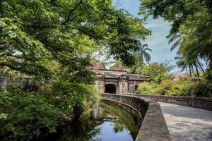 intramuros oude stad van Manilla foto