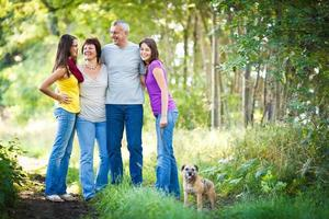 familie portret foto