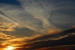 zonsondergang cloudscape