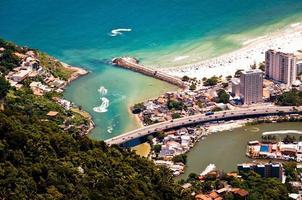 Luchtfoto van Barra da Tijuca foto