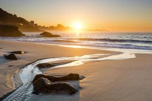 zonsopgang in Rio foto