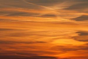 dramatische zonsondergang