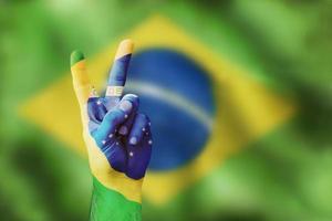overwinning voor brasilia foto
