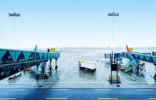 luchthaven van guangzhou foto