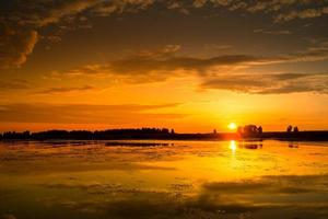 geweldige zonsondergang