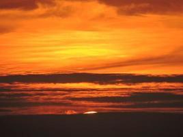 zonsondergang finale foto