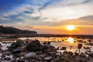 zonsondergang eb foto