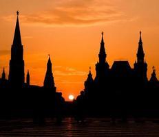 Moskou, rood vierkant foto