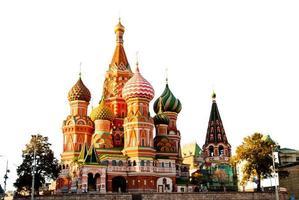 st. Basil Kathedraal, Rode Plein, Moskou foto