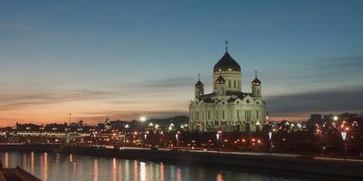 Moskou avond foto