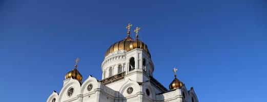Christus de Verlosserkathedraal, Moskou, Rusland foto