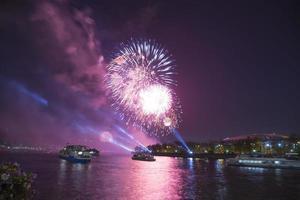 viering van de 70e verjaardag van de overwinningsdag (WOII) Moskou foto